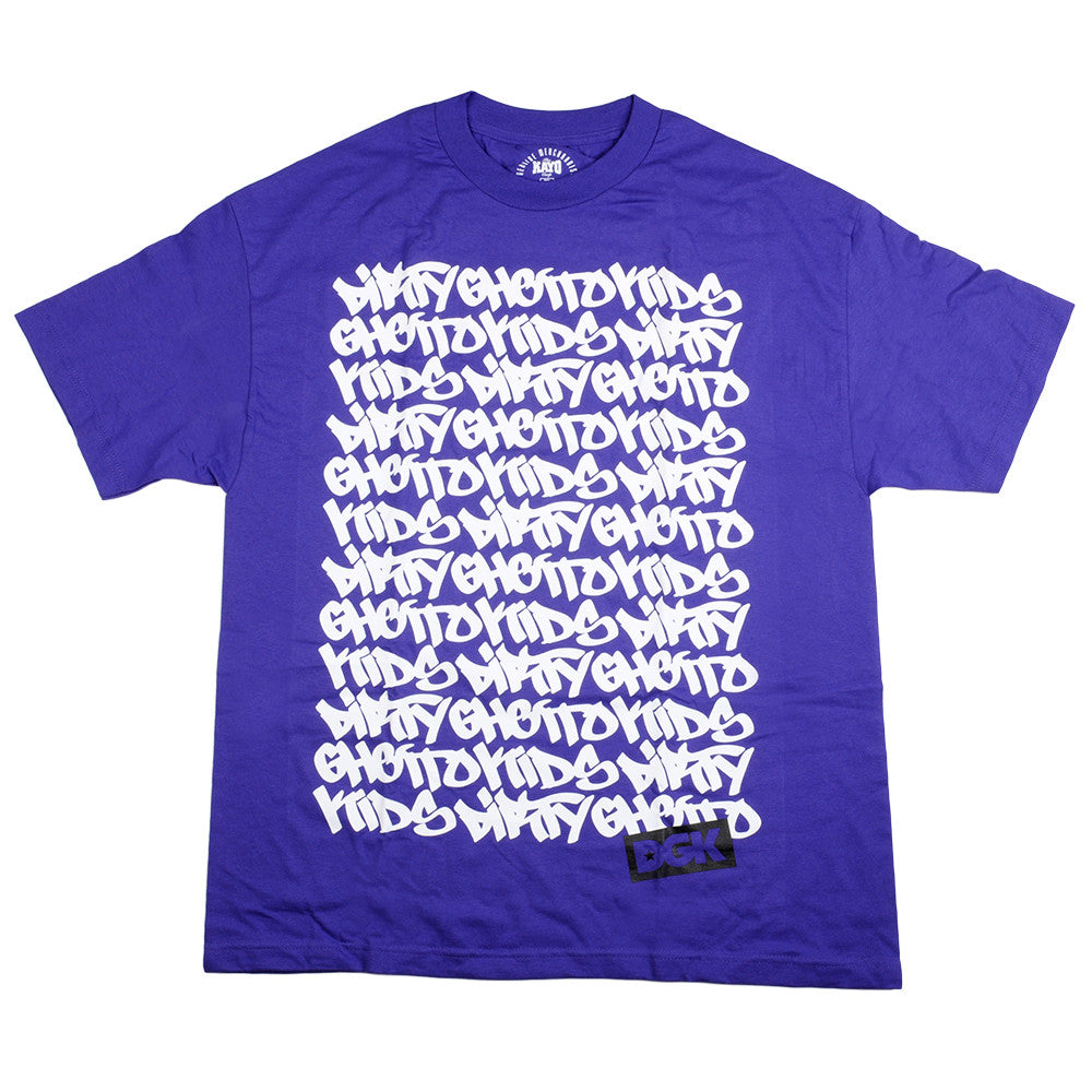 DGK Graph Bold - Men's T-Shirt - Purple
