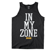 DGK T's In My Zone Tank - Black - Men's Tank Top