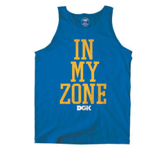 DGK T's In My Zone Tank - Royal - Men's Tank Top