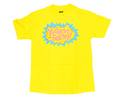 DGK T's Yo Ghetto Ghetto - Yellow - Men's T-Shirt