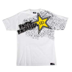 Metal Mulisha Rockstar Membrane - White - Mens T-Shirt
