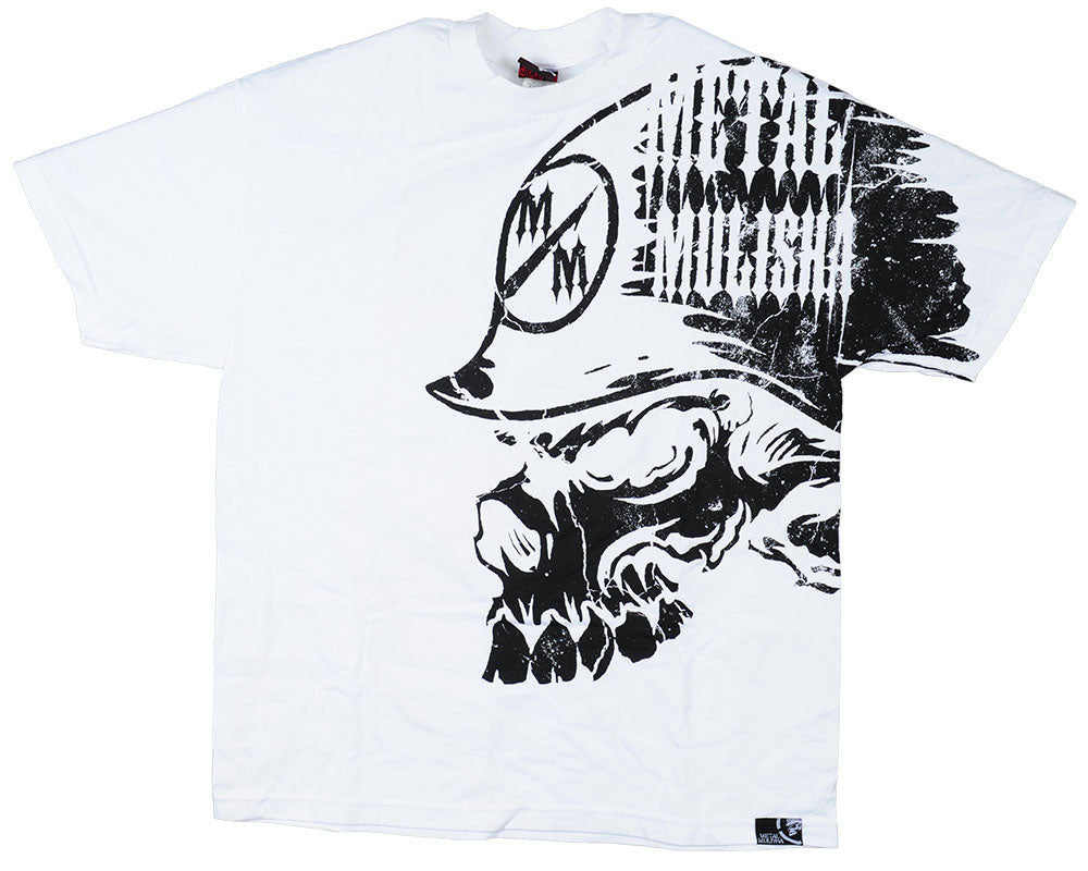 Metal Mulisha Peripheral S/S - White - Men's T-Shirt