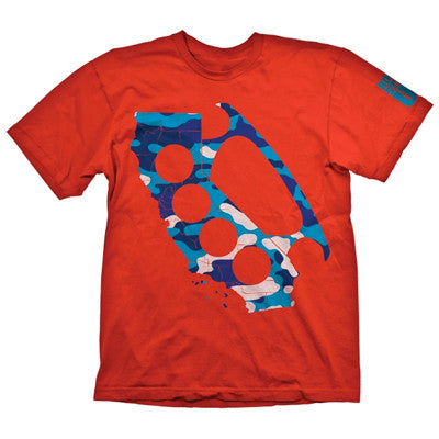Rogue Status Camo Knuckle - Red - Men's T-Shirt