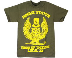 Rogue Status Union Of Thieves S/S - Green/Yellow - Men's T-Shirt