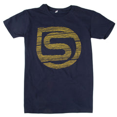 Sputnic Strung Out - Navy - Men's T-Shirt