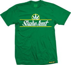 Shake Junt Pure Bud S/S - Green/White - Men's T-Shirt