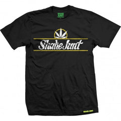 Shake Junt Pure Bud S/S - Black - Men's T-Shirt