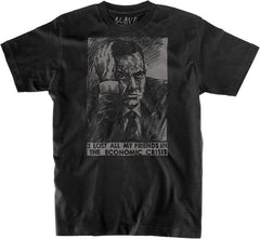 Slave No Friends S/S - Black/Grey - Men's T-Shirt