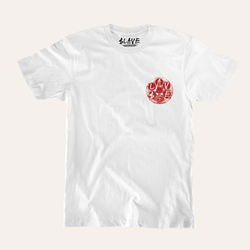 Slave Loaded S/S - White - Men's T-Shirt