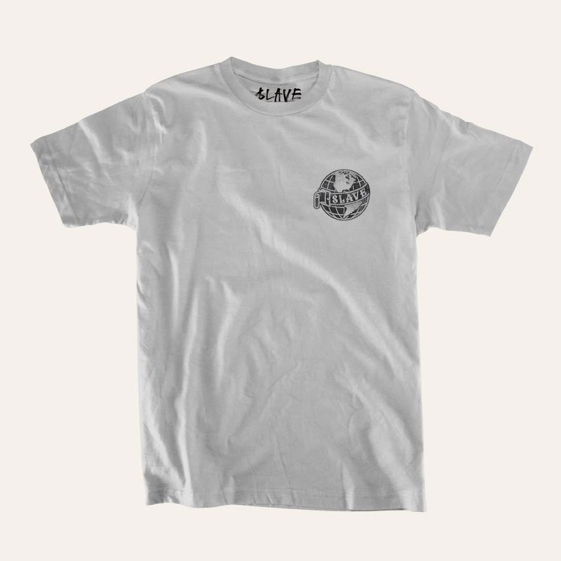 Slave Old World S/S - Silver - Men's T-Shirt