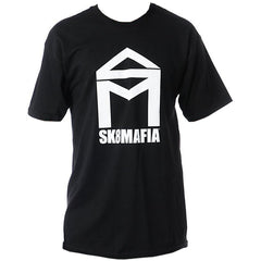 Sk8mafia House Logo - Black/White - Men's T-Shirt