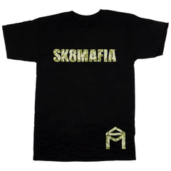 Sk8mafia OG Logo Leaves - Black - Men's T-Shirt