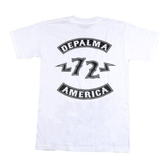 DePalma Rocker Tee - White - Mens T-Shirt