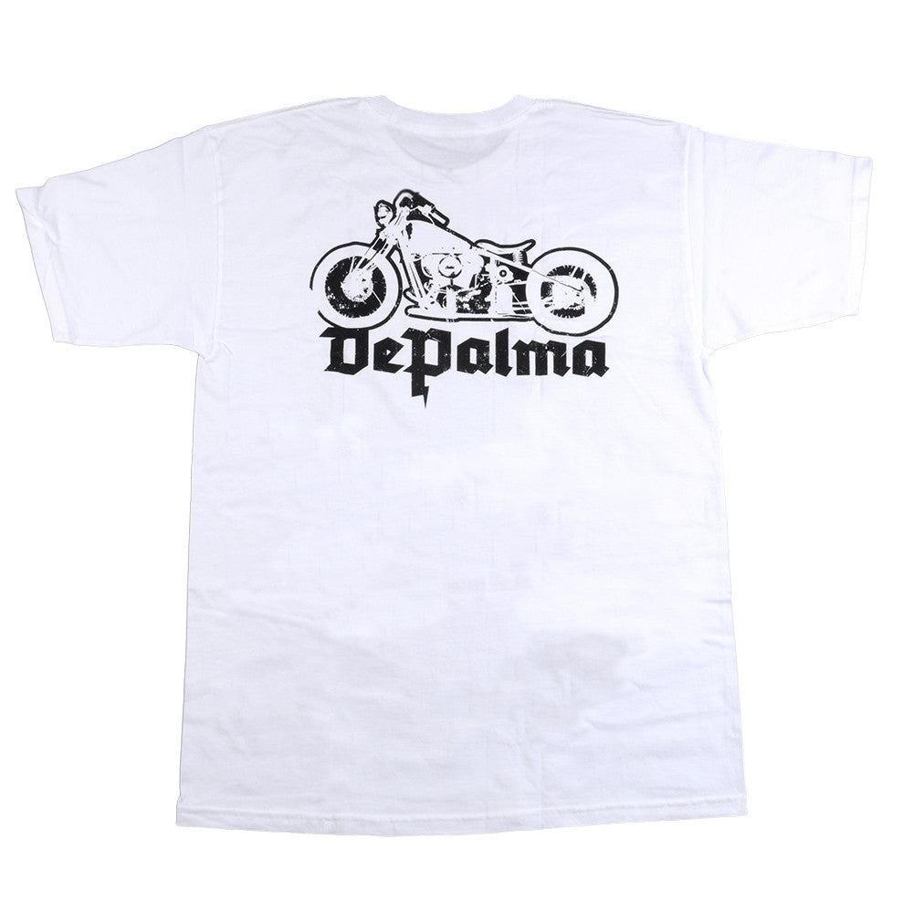 DePalma Runner Tee - White - Mens T-Shirt