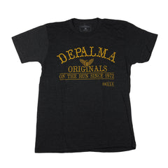 DePalma Originals Tee - Black - Mens T-Shirt