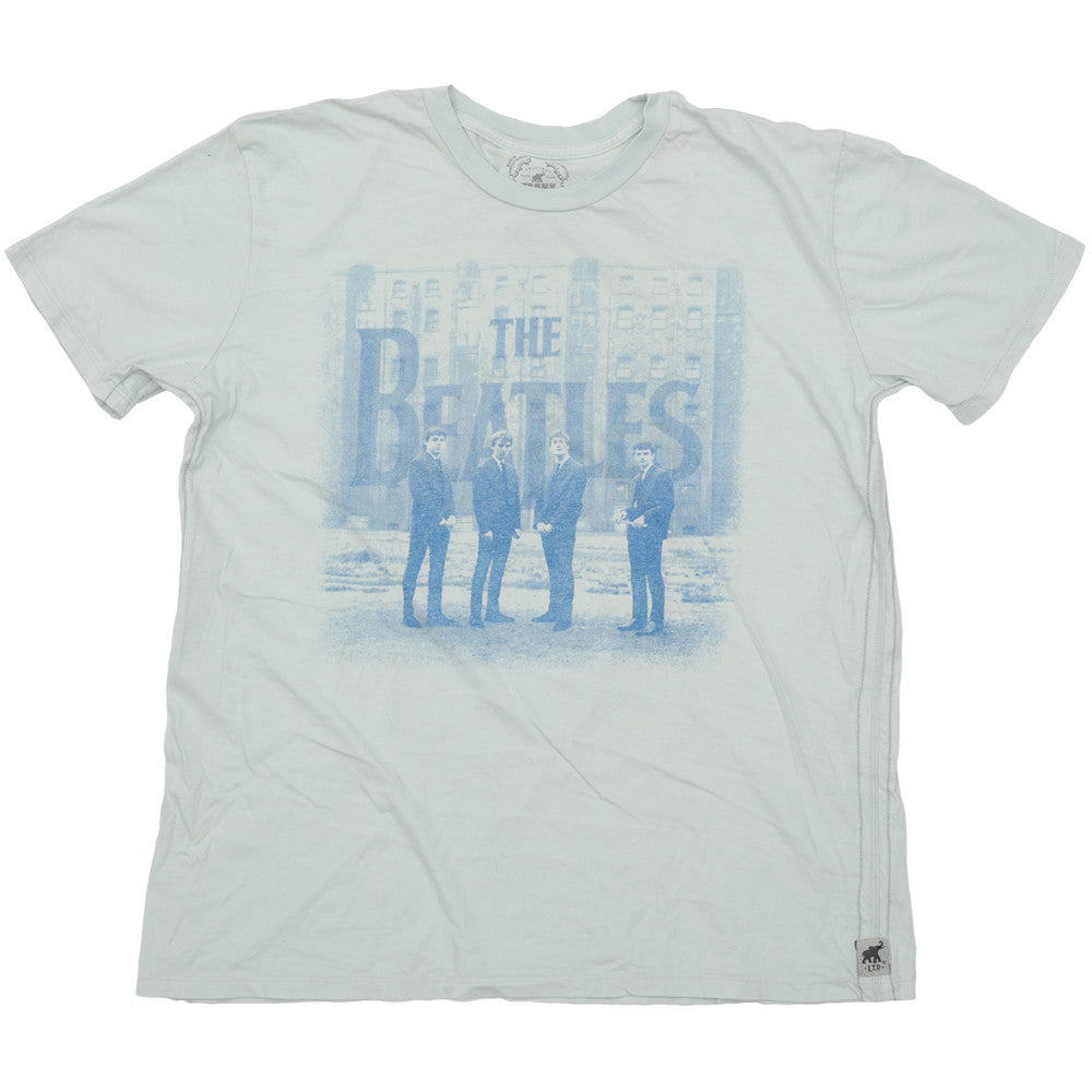 The Beatles - Liverpool '62 - Blue - Mens T-Shirt
