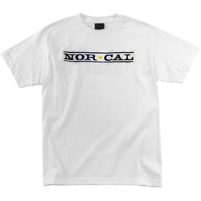 Nor Cal Original Logo Regular S/S - White - Men's T-Shirt