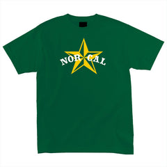 Nor Cal Nautical 2 Regular S/S - Hunter Green - Men's T-Shirt