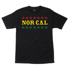 Nor Cal Slacker Regular S/S - Black - Men's T-Shirt