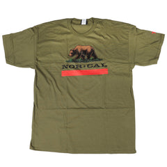 Nor Cal New Republic Regular S/S - Military Green - Men's T-Shirt