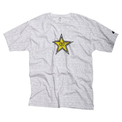 Rockstar Writing On The Wall - White - Mens T-Shirt