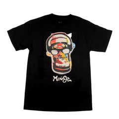 Mouse Canned S/S - Black - Mens T-Shirt