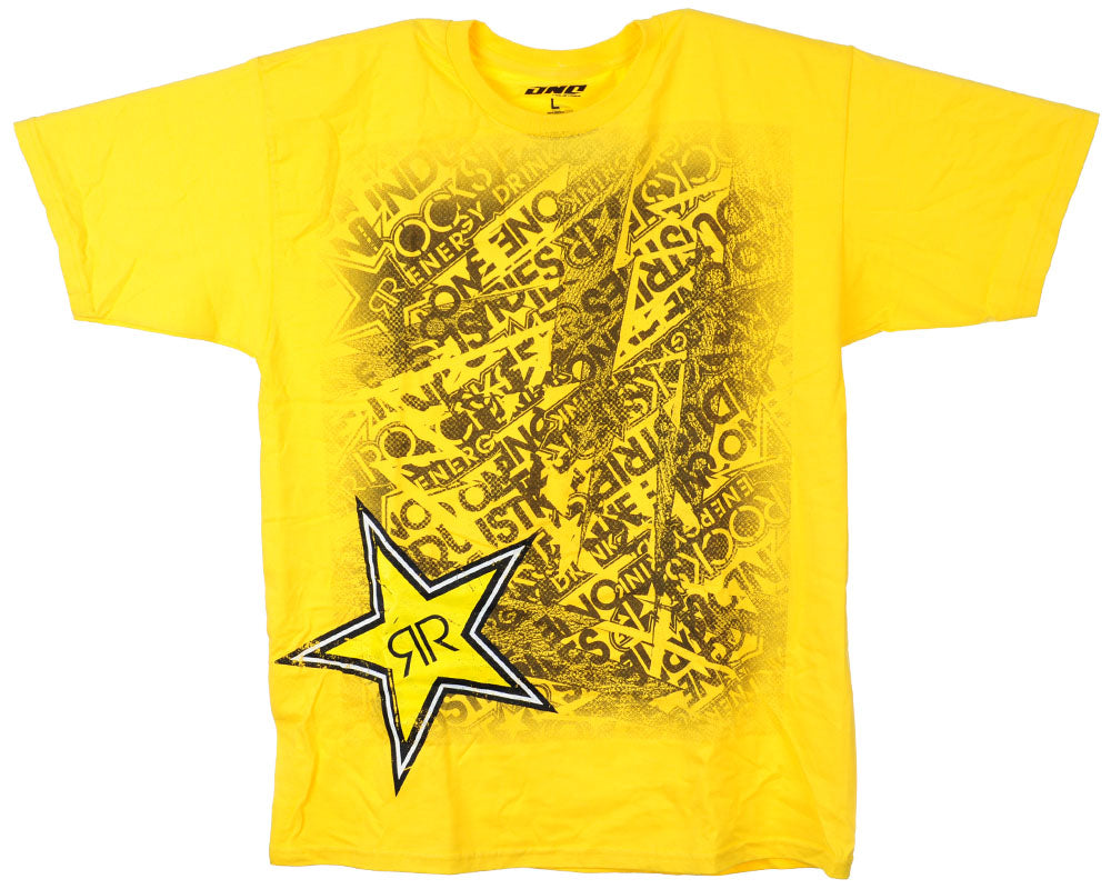 One Industries Rockstar S/S - Yellow - Men's T-Shirt