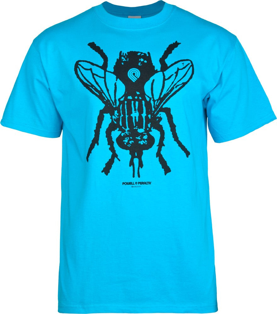 Powell Peralta Fly Short Sleeve - Turquoise - Men's T-Shirt