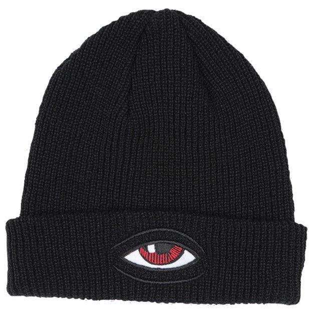 Toy Machine Sect Eye Dock - Black - Men's Beanie
