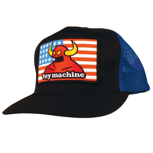 Toy Machine American Monster Cap Adjustable - Blue - Men's Hat