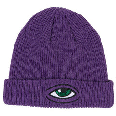 Toy Machine Sect Eye Dock - Purple - Men's Beanie