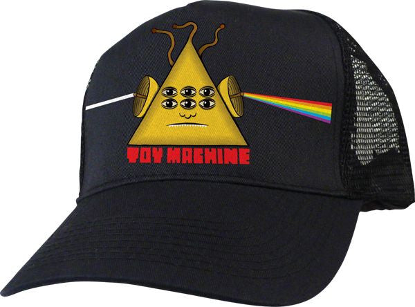 Toy Machine Darkside Mesh - Black- Men's Hat