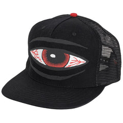 Toy Machine Sect Eye Trucker Adjustable - Black- Men's Hat