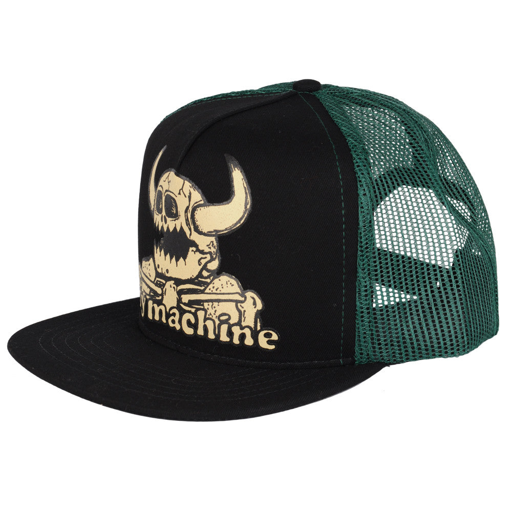 Toy Machine Dead Monster Mesh Trucker - Green - Men's Hat