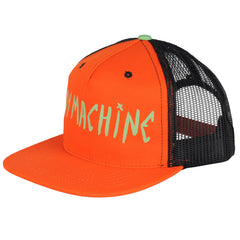 Toy Machine Text w/ Eye on Bill - Orange - Men's Hat