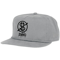 Zero Hardluck Unstructured Snapback - Grey - Men's Hat