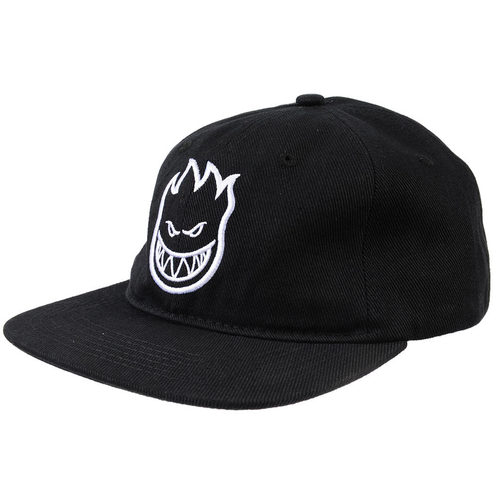 Spitfire Adjustable Bighead Unstructure 6 Panel - Black - Men's Hat