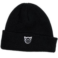 Pig Wharf - Black - Men's Beanie