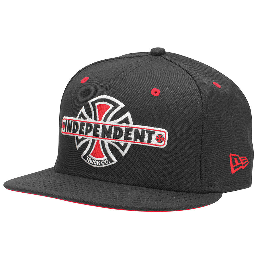 Independent Vintage B/C New Era 59 Fifty - Black - Men's Hat - 7 3/8