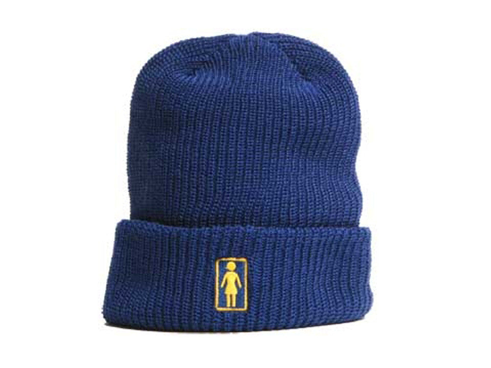 Girl OG Folded - Navy - Men's Beanie