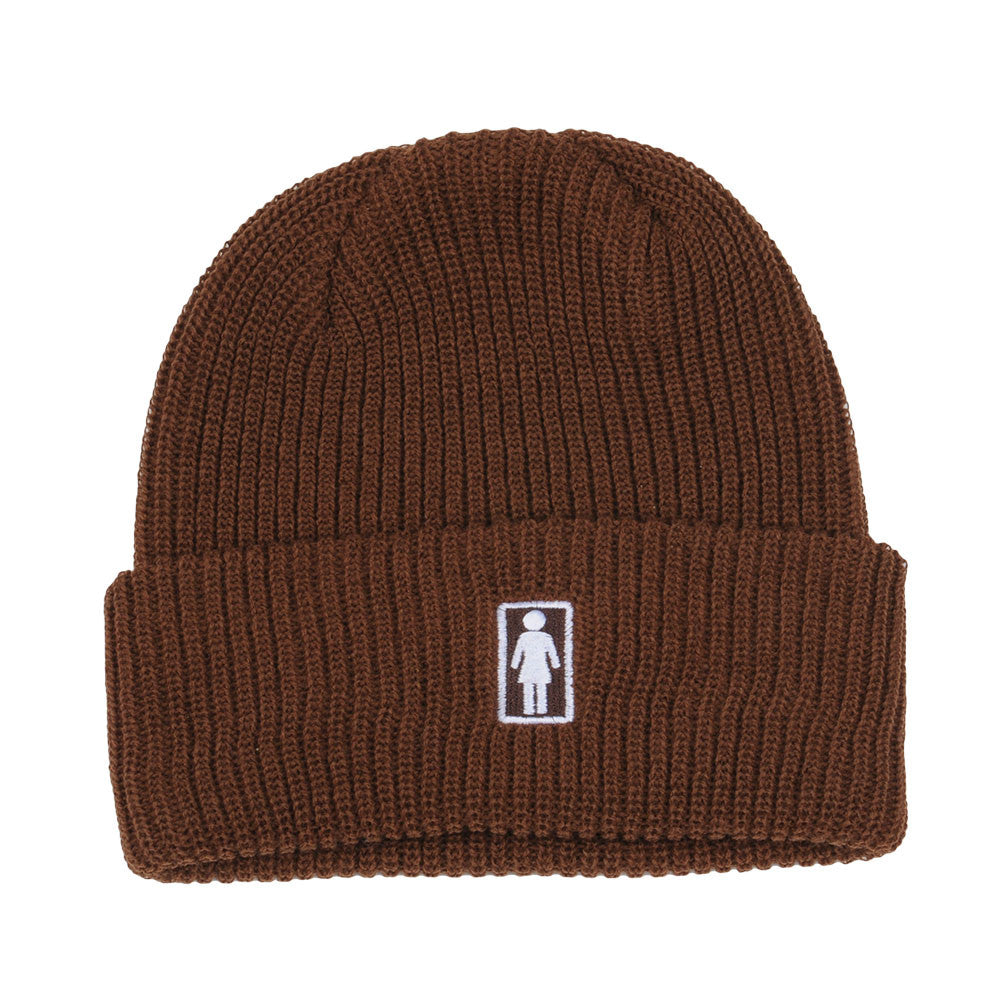 Girl OG Folded - Brown - Men's Beanie