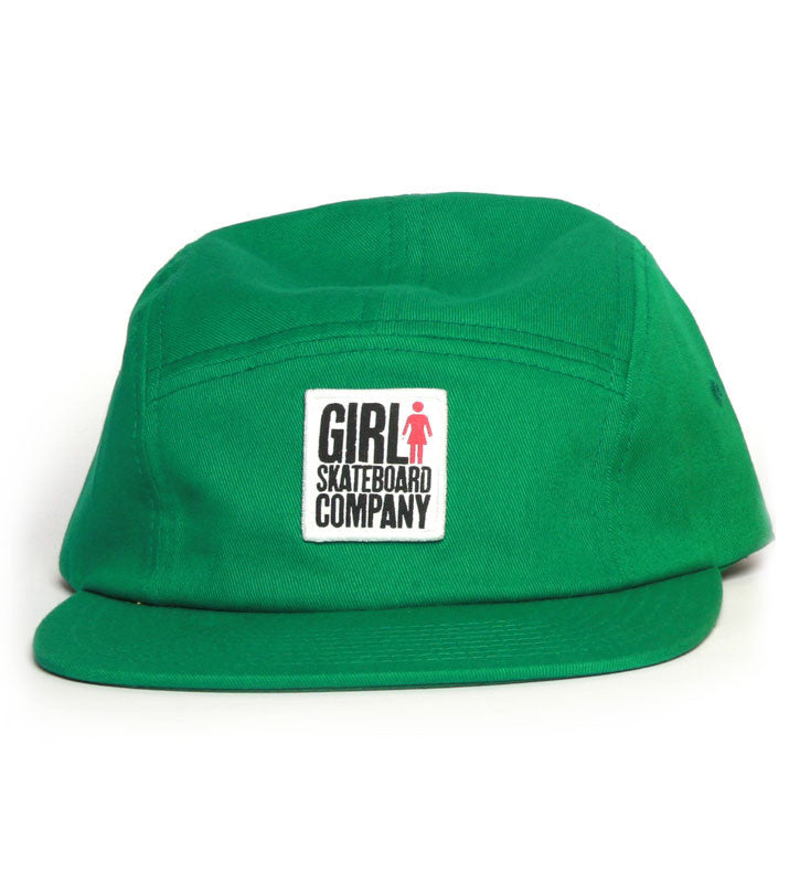 Girl Big Girl Camper Strapback - Green - Men's Hat