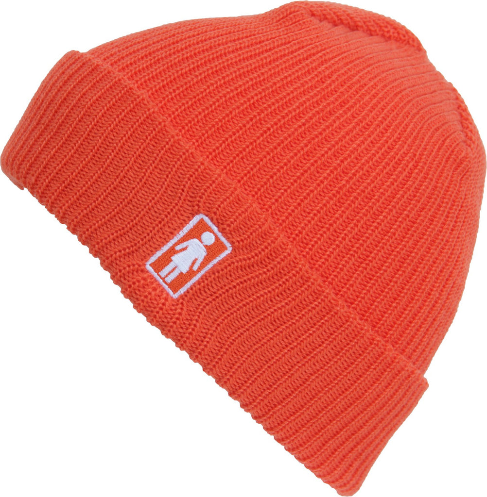 Girl OG Folded - Orange - Men's Beanie