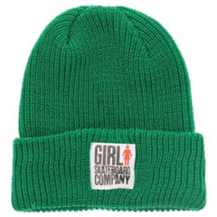Girl Big Girl Folded - Green - Men's Beanie