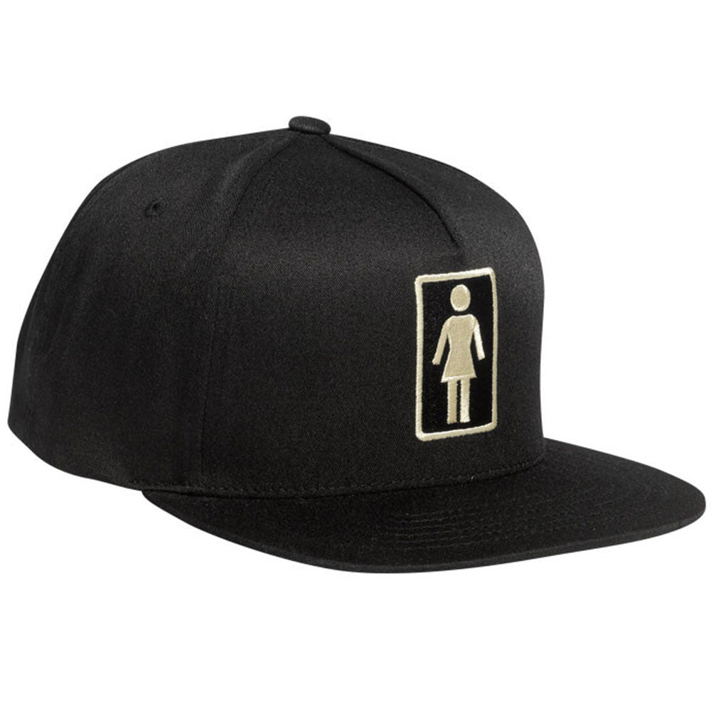 Girl Everyday OG Snap - Black - Men's Hat