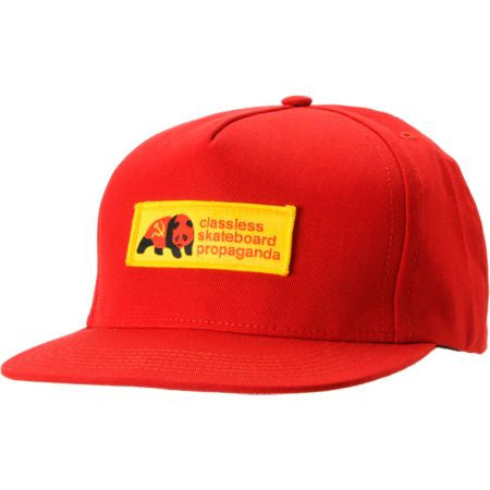 Enjoi Dictator-tots Cap Snapback - Red - Men's Hat