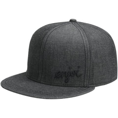Enjoi Garbage Man Cap Snapback - Black - Men's Hat