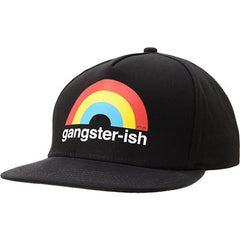 Enjoi Gangsterish Snapback Cap - Black - Men's Hat