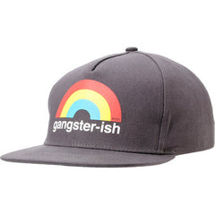 Enjoi Gangsterish Snapback Cap - Charcoal - Men's Hat