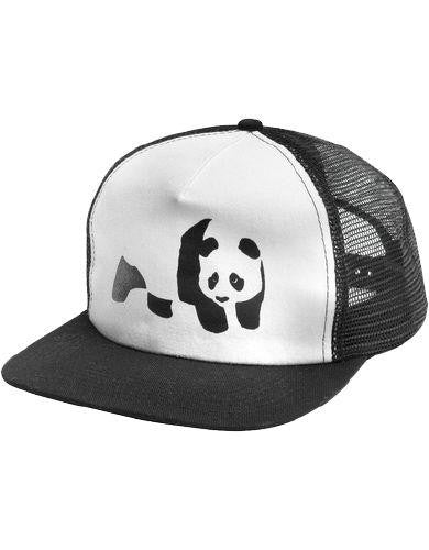 Enjoi Panda Truck Cap - Black - Men's Hat